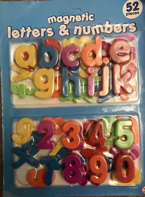 Magnetic letters & numbers children's educational learning aid phonics & numeral