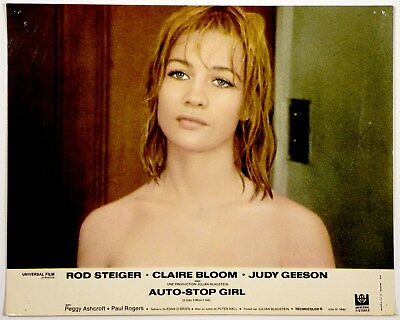 PHOTO D'EXPLOITATION.cinéma.1969.AUTO-STOP GIRL.ROD STEIGER.CLAIRE BLOOM.GEESON