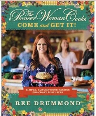 """NEW Special Edition  """"The Pioneer Woman Come and Get It CookBook"""" 2017"""