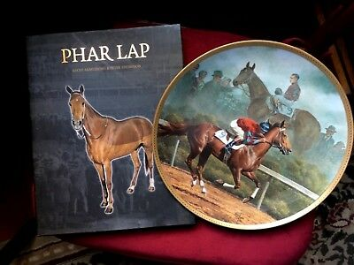 Fred Stone American Artists Plate PHAR LAP + Frame