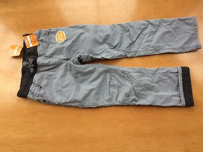 NWT Gymboree Boys Pull on Pants Jersey Lined Gray Many Sizes