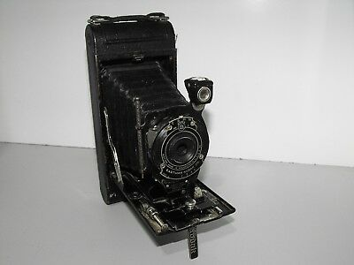 Rare Vintage Eastman Kodak Co No 1A Pocket Folding Film Camera Made In USA