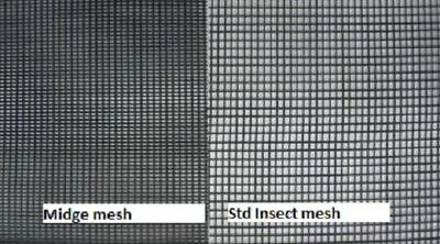 1200mm x10 m Midge small insect, Sand fly Insect Fly screen sale 50 % off