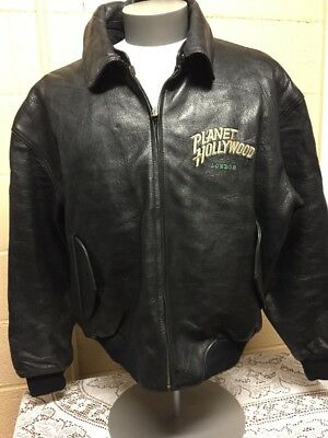 Planet Hollywood Leather Jacket London