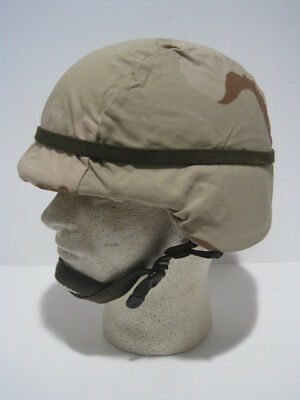 New Unissued Condition Pasgt Kevlar Helmet Dcu Cover Ach Mich Xsmall Gentex