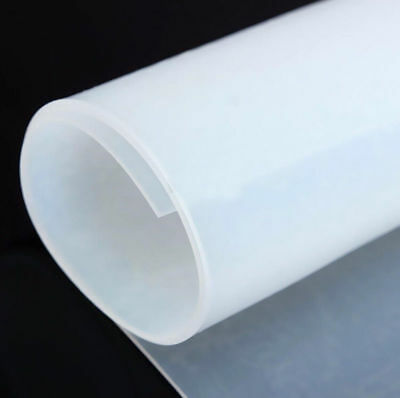 "1mm Thicknes 20""*20"" Silicone Rubber Sheet Plate Mat High Temp Commercial Grad"