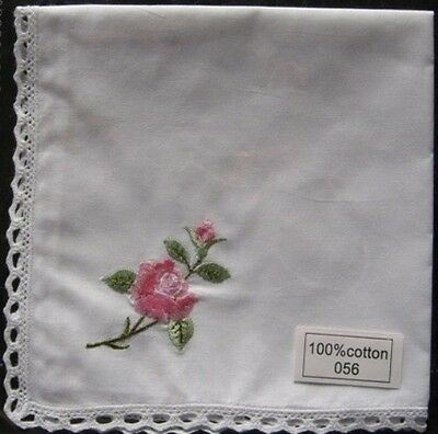 Embroidered Woman's Handkerchiefs