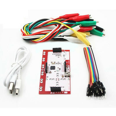 Alligator Clip Jumper Wire Makey Standard Controller Board Kit for Arduino AU