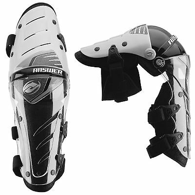 Answer racing pivot knee guards braces motorbike protection adults one size
