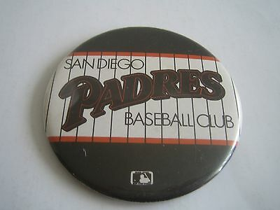 Vintage MLB San Diego Padres 3.25 inches Button