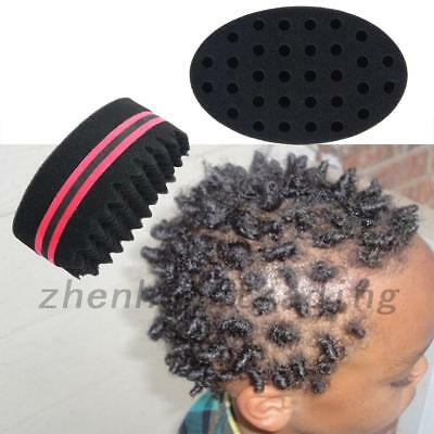 1Pc Wave Barber Hair Brush Sponge For Dreads Afro Locs Twist Curl Coil Tool