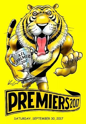 Richmond Tigers Yellow Premiers 2017 Sticker or Magnet