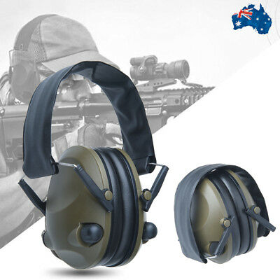 Earmuffs Shooting Electronic Hunting Hearing Noise Protection Ear Muffs Foldable