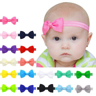 Baby Kids Girls Mini Bowknot Hairband Elastic Headband Buy 2 or more get 1 free