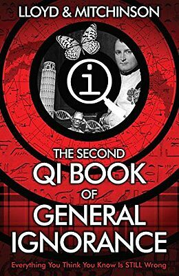 QI: The Second Book of General Ignorance New Paperback Book