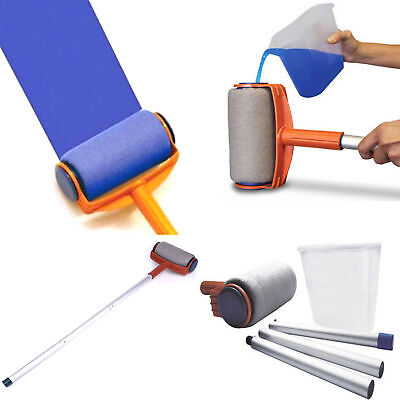 As Seen On TV Paint Roller Kit Painting Roller Runner Pintar Facil Decor Pro AU
