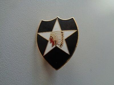 (A11-X26)  US Zivil Pin Army 2nd Infantry Division
