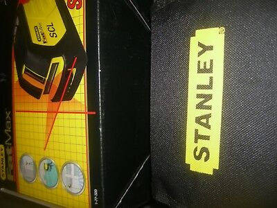 stanley 1-77-320 scl fat max cross line laser full kit interior & exterior use