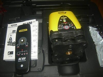 stanley rl100 1-77-156 manual rotary laser levelling system, up to 140 metre