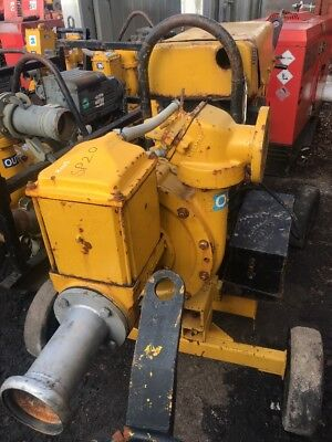 Selwood S100 Diesel Water Pump On Wheels