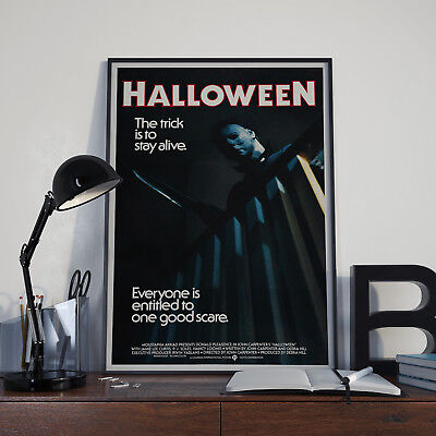 Halloween (1978) -  Movie Film Poster Print Picture A3 A4