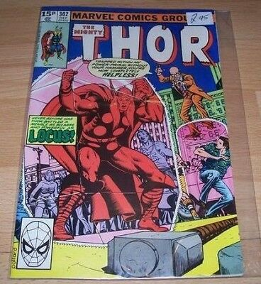 Thor (1962-1996 1st Series ) #302...Published December 1980 by Marvel