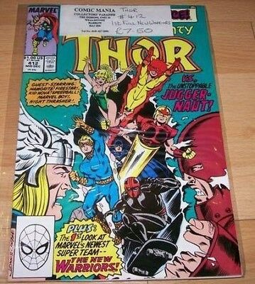 Thor (1962-1996 1st Series ) #412...Published Dec 1989 by Marvel