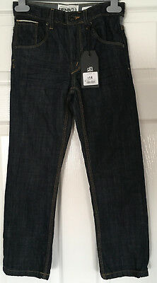 New with Tags DENIM 73 Boys Blue JEANS age 8 yrs - adjustable waist