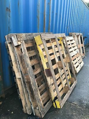 Used Wooden PALLETS Heavy Duty Bulk sale DIY Garden fence table  Recycle Timber