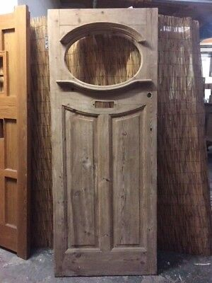 1920s30s Original Pine Front Door 15000 Picclick Uk