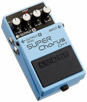 NEW Boss CH-1 SUPER Chorus Guitar Effect Pedal