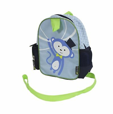 Itzy Ritzy Preschool Happens Toddler Harness and Backpack, Monkey