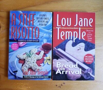 Lou Jane Temple Lot Of 5 Cozy Mystery Pbs Heaven Lee Series 2 6