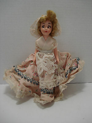 """Dolls Of All Nations Height 8"""" Duchess Dolls Corp. N. York  Vintage"""