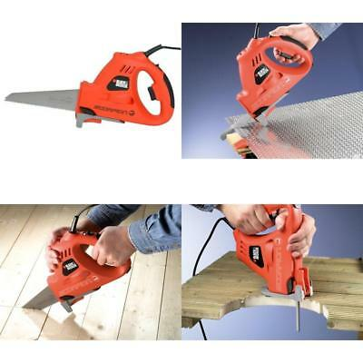 Black And Decker Scorpion Electric Power Saw For Cutting Wood Metal Plastic New