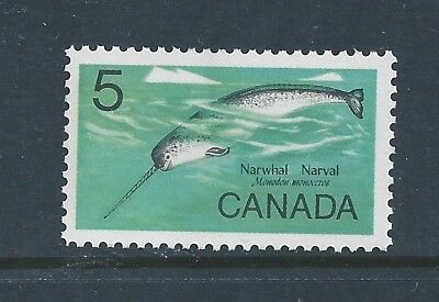 Canada #480ii Single Fluorescent Paper Variety MNH**Free Shipping**