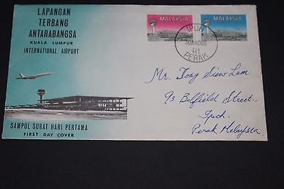 Malaysia 1965 International Airport First Day Cover