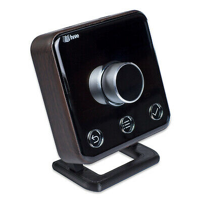 Stand for Hive Thermostat v2 with Mounting Screws - Medium Black