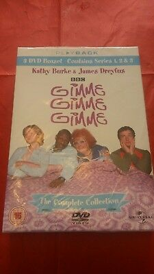Gimme, Gimme, Gimme - The Complete Collection Boxset. Series 1,2 & 3. BNWT