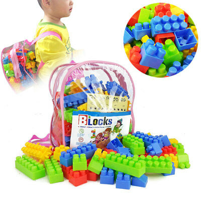Building Blocks Large Particles Puzzle Early Education Assembled Toys Learning