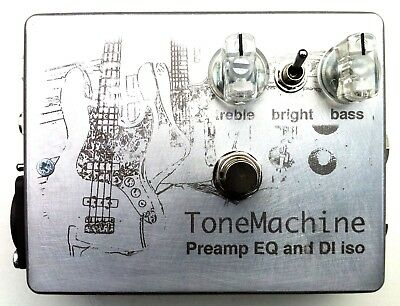 Active FET DiBox with Preamp EQ Stompbox Pedal Effect BASS&GUITAR Musicman Sabre