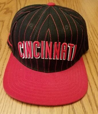 583a96831e8 American Needle Cooperstown Collection Cincinnati Reds Baseball Snapback  Hat Cap
