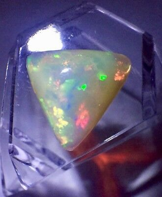 5.46 CT Ethiopian Fire Opal 16.19 x 15.72 x 6.64 mm
