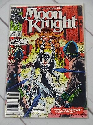 Moon Knight (2nd Series) Fist of Khonshu #1 1985 Bagged and Boarded - 2467