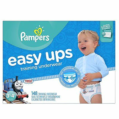 Pampers Easy Ups Training Pants Pull On Disposable Diapers for Boys Size 5 148