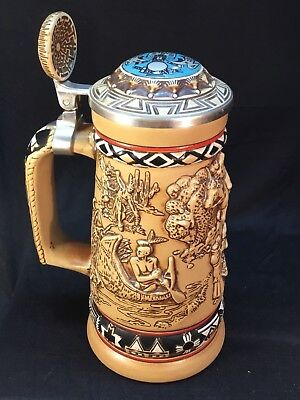 1988 Avon Stein Indians Of The American Frontier Collectible Display No. 218843