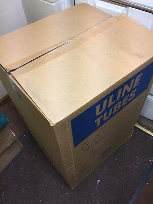 "Quantity of 16 Uline Brand 4"" Inches X 30"" Inches Mailing Tubes with Caps S-3617"