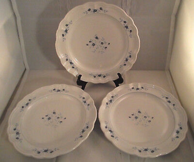 Set of 3 Pfaltzgraff Poetry Glossy Dinner Plates. : pfaltzgraff imperial dinnerware - pezcame.com