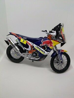1:12 Red Bull KTM No 2 Marc Coma 2014 Darkar Rally Motorcycle Model