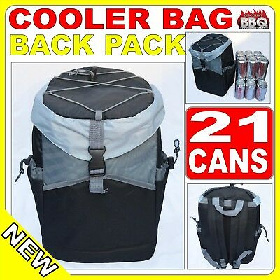 Backpack Cooler Insulated Picnic Bag 4 Camping Hiking Fishing 22 cans Eski Event